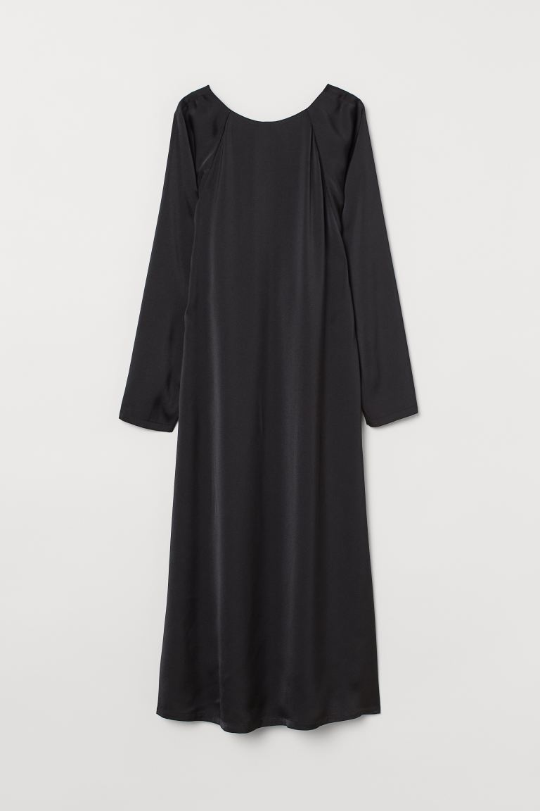 A-line dress - Black - Ladies | H&M