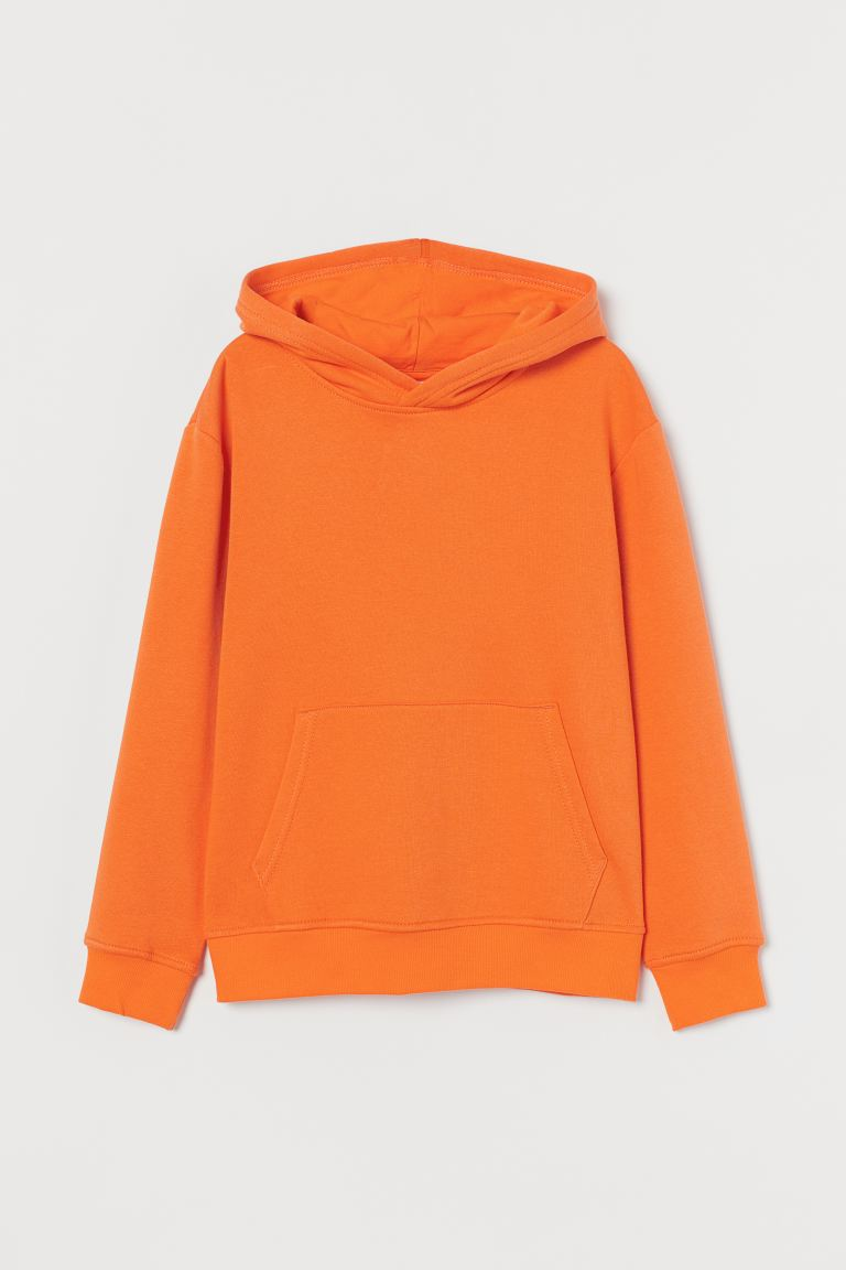 Hooded top - Orange - Kids | H&M
