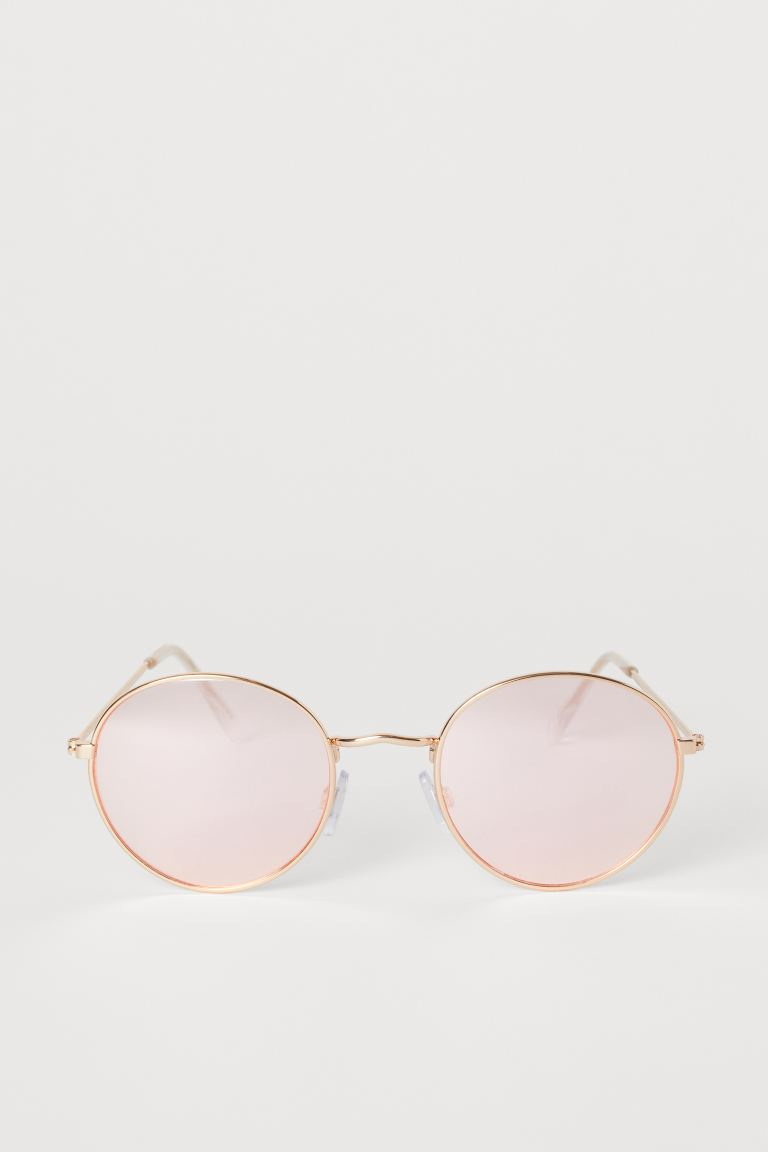 Sunglasses - Rose gold-coloured/Pink - Ladies | H&M GB