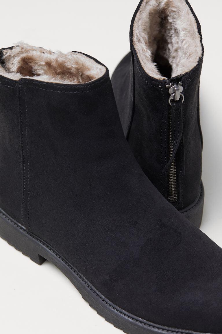 varmfodrade skor dam