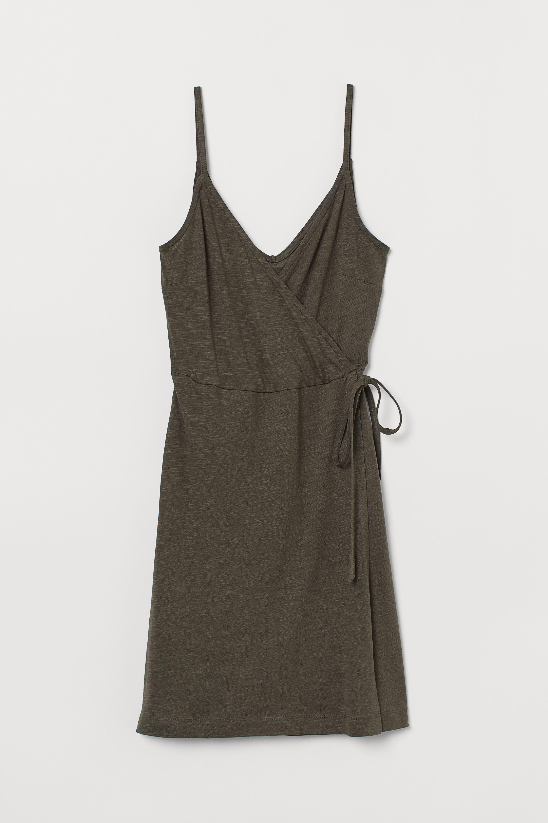 Modal-blend Wrap Dress