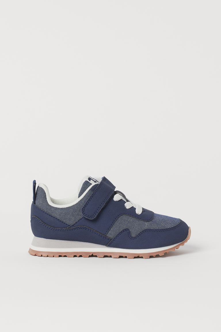 Sneakers - Dark blue/chambray - Kids | H&M US