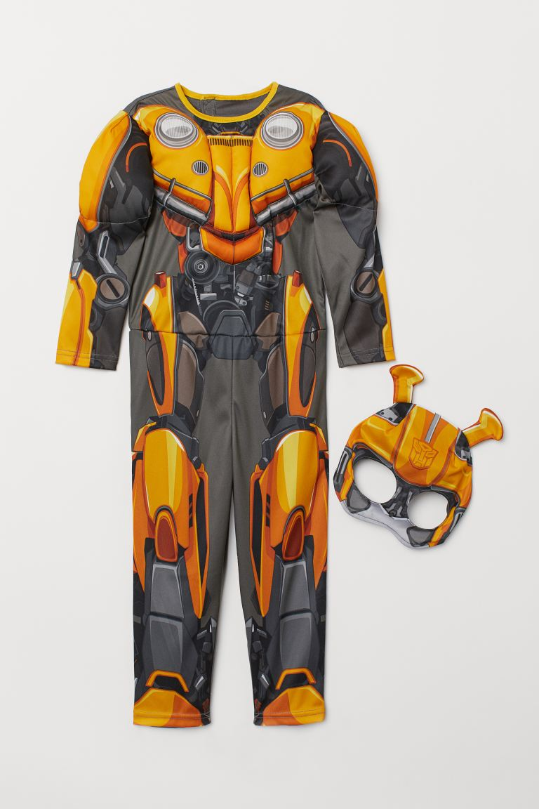 Superhero Costume - Yellow/Transformers - Kids | H&M US