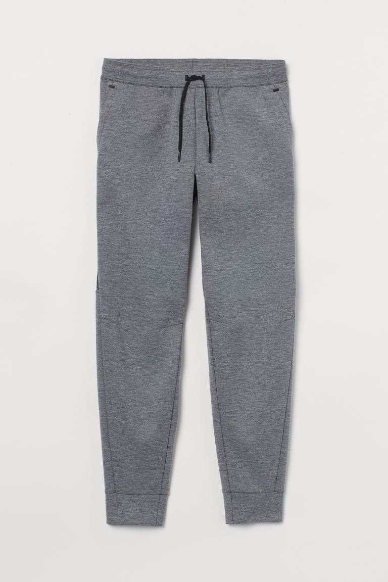 Sports joggers - Grey marl - Men | H&M IN