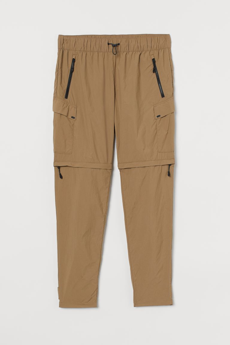 Water-repellent trousers - Beige - Men | H&M