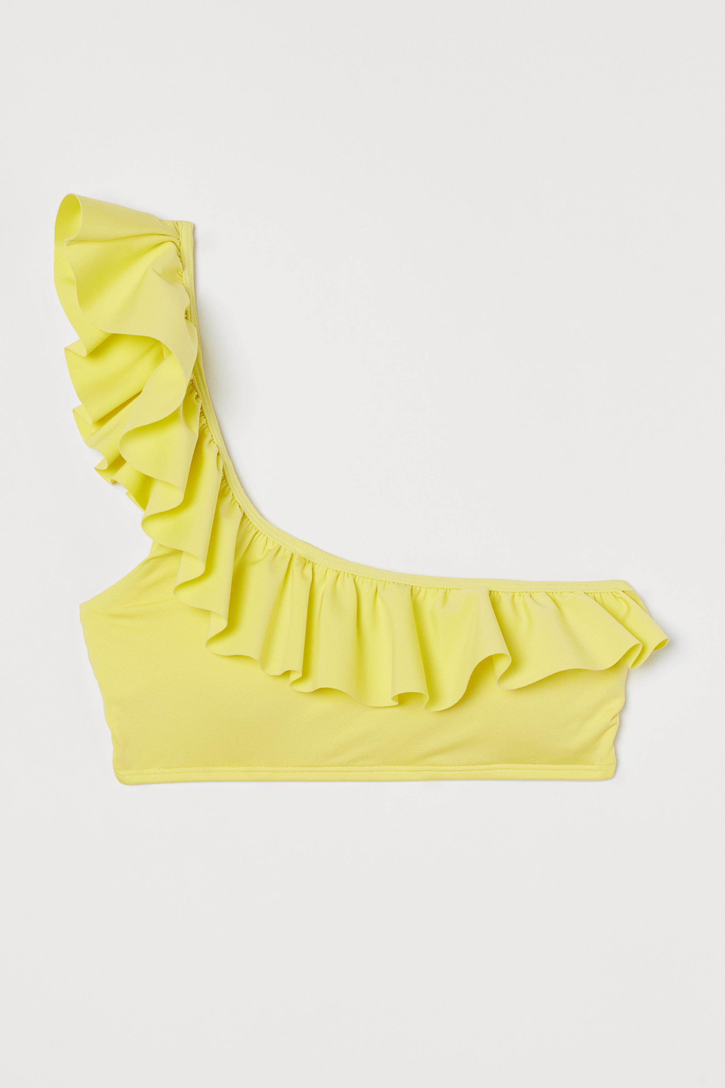 One-shoulder Bikini Top