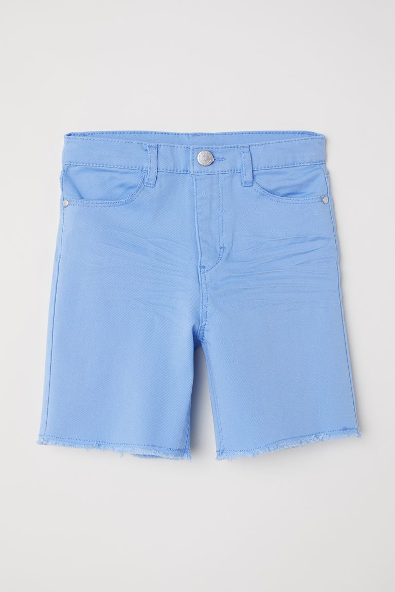 Twill shorts - Light blue - Kids | H&M