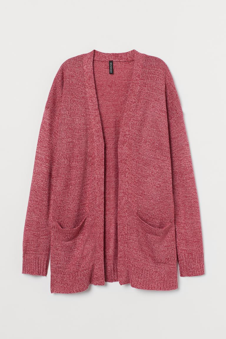 Strickcardigan - Rosameliert - Ladies | H&M DE