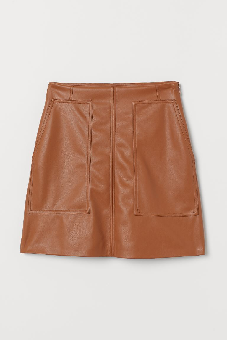 A-line Skirt - Light brown - Ladies | H&M US