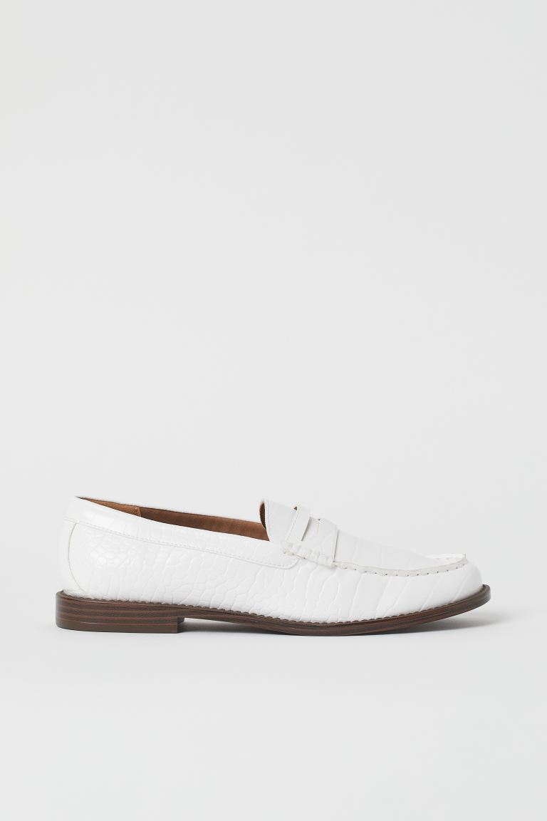 Loafers - White - Ladies | H&M IN