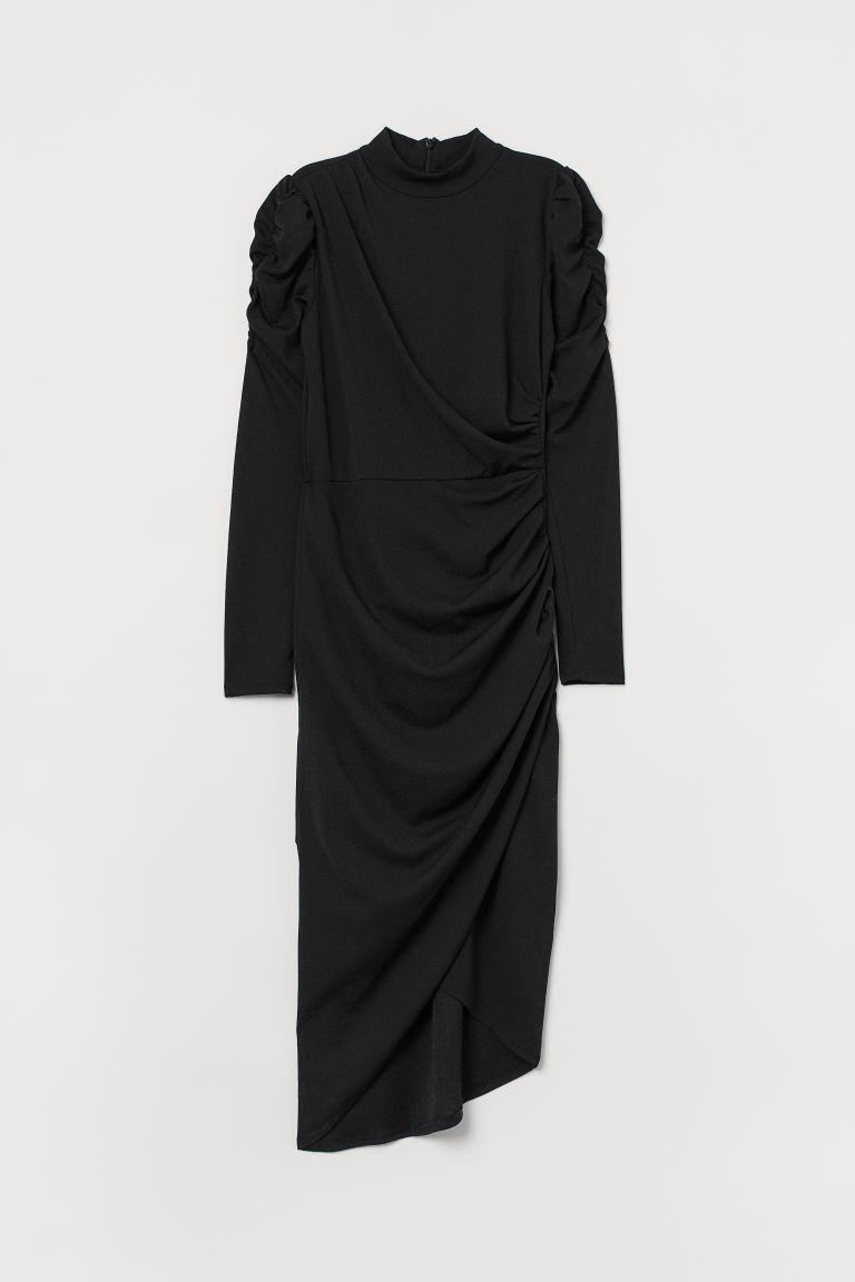 svart klänning dam