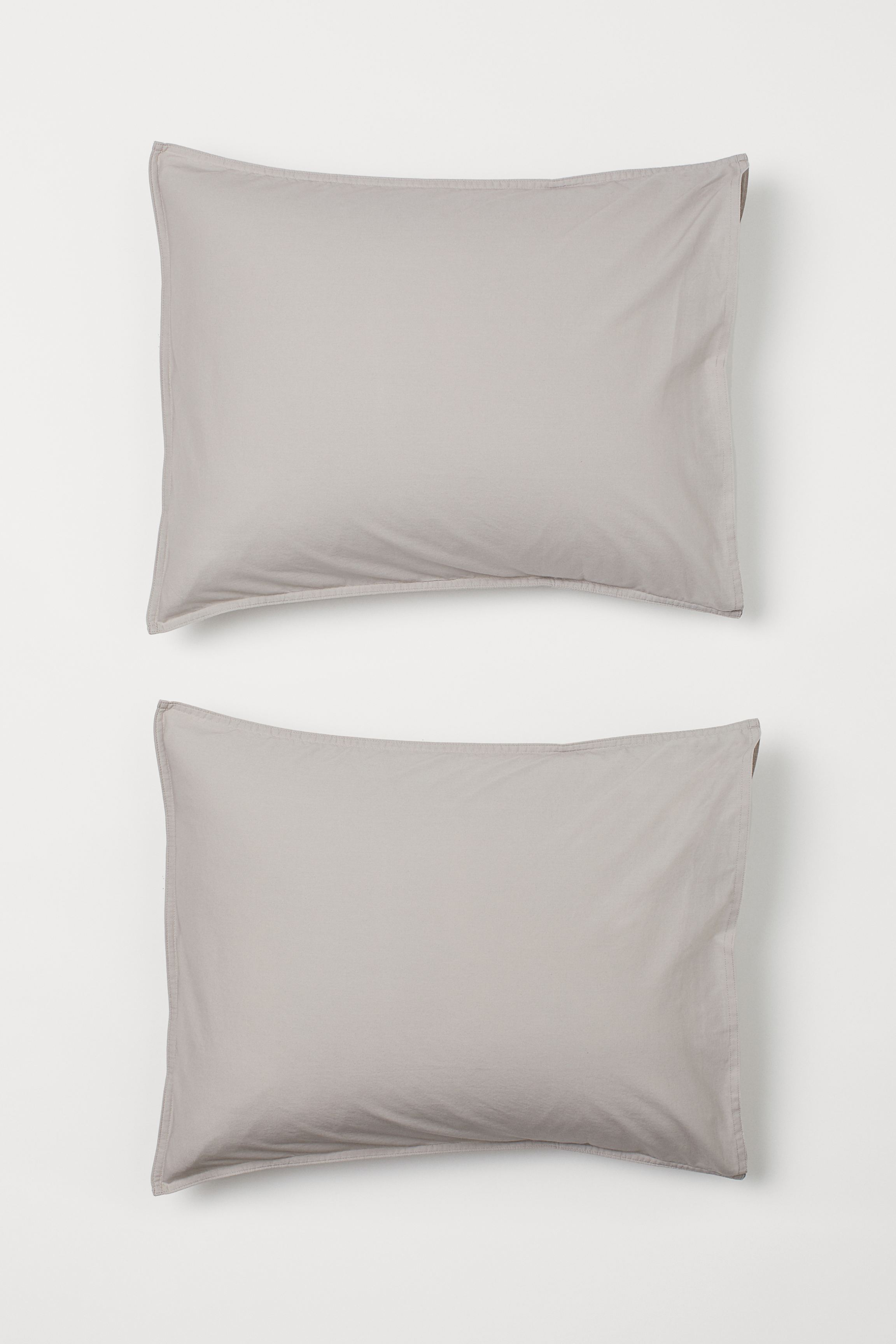 2-pack Cotton Pillowcases
