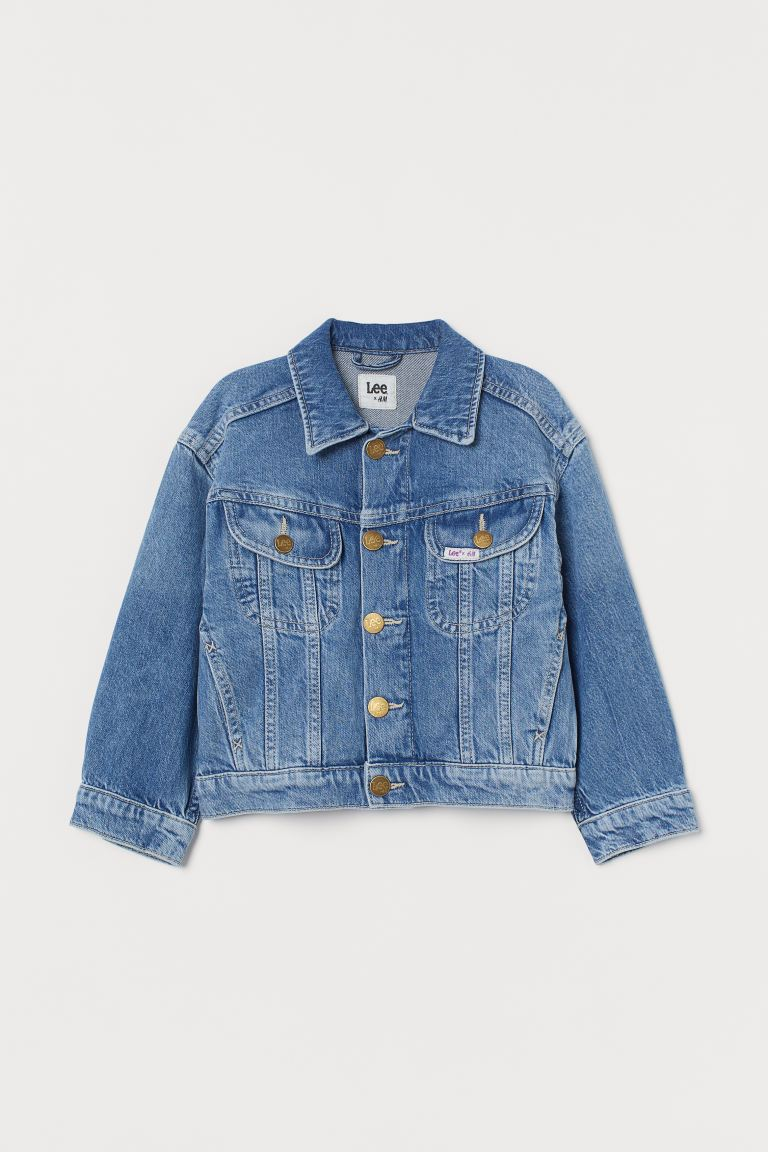 Denim Jacket - Denim blue - Kids | H&M US
