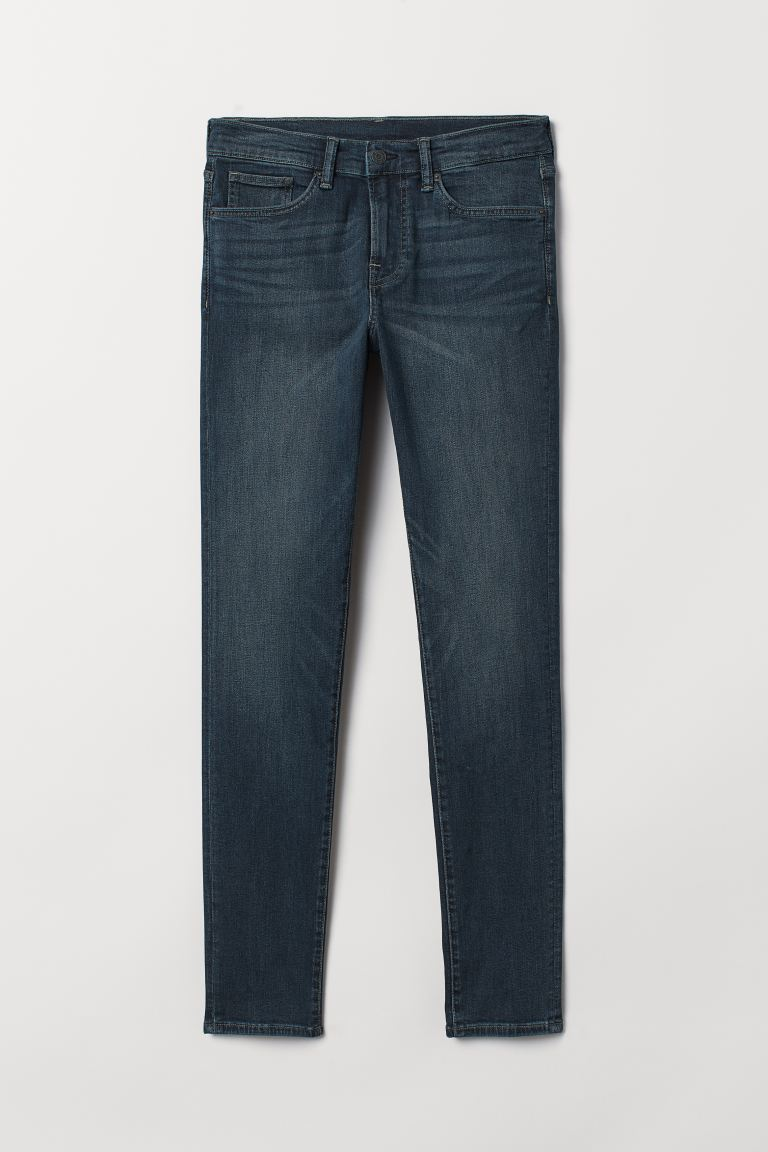 Skinny Jeans - Azul oscuro - HOMBRE | H&M ES