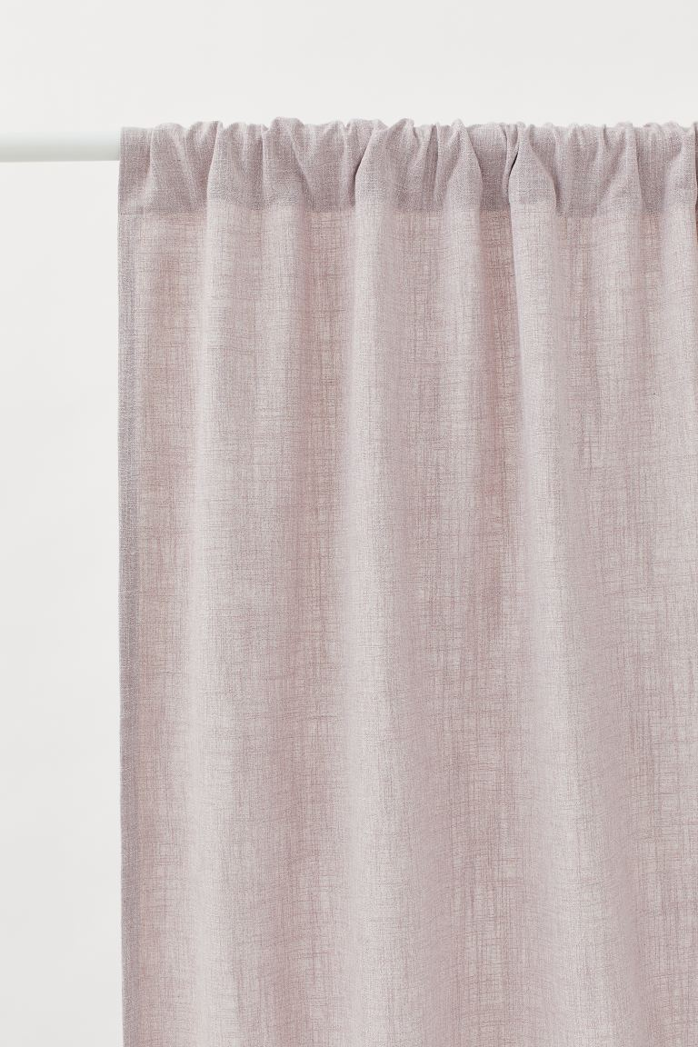 2-pack Curtain Panels - Powder pink - Home All | H&M US