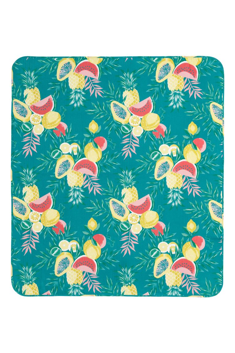 Couverture de pique-nique - Turquoise/fruit - Home All | H&M FR