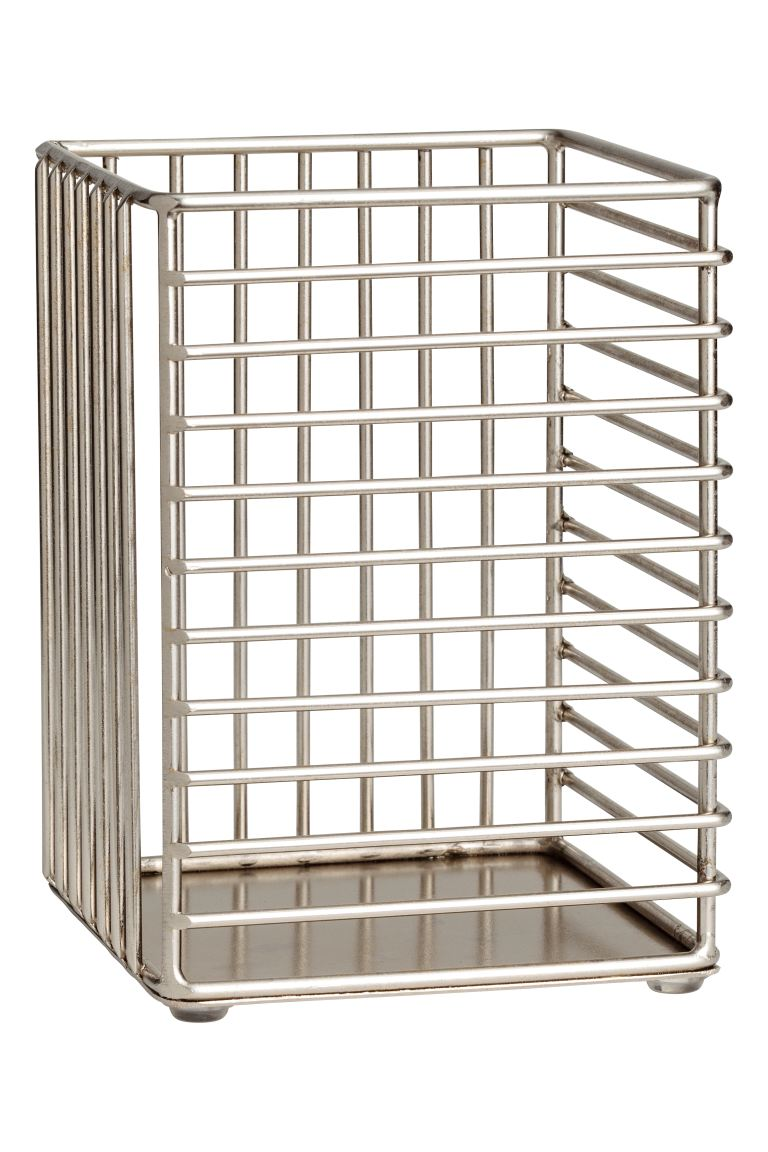 Metal wire basket - Silver - Home All | H&M GB