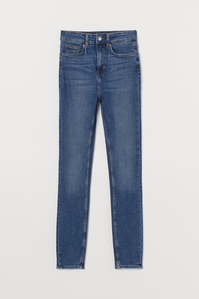 Skinny High Jeans - Denim blue - Ladies | H&M US