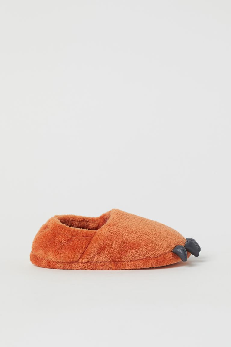 Weiche Hausschuhe - Orange/Fuchs - Home All | H&M AT