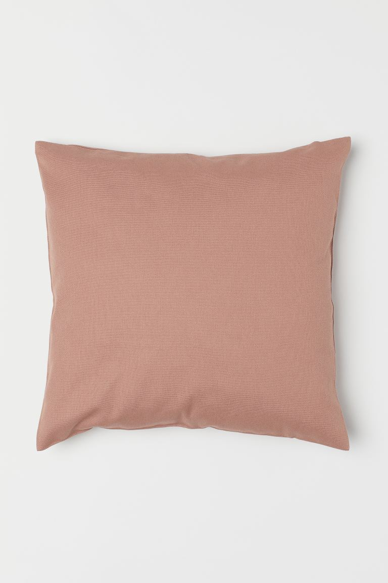 Canvas Cushion Cover - Apricot - Home All | H&M US