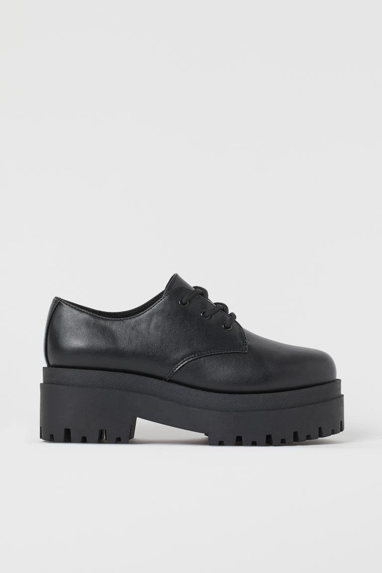 Simone Rocha x H&M fekete női derby cipő gyöngyökkel 40-es méret