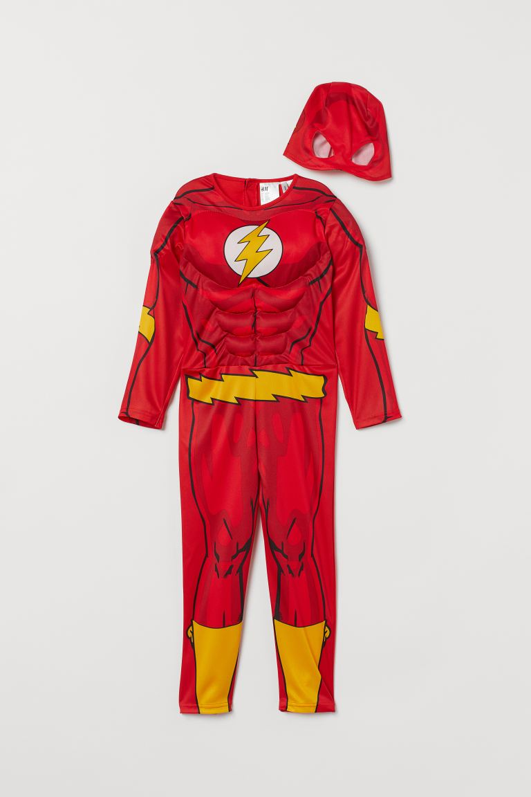 Costum de supererou - Roșu/Flash - COPII | H&M RO
