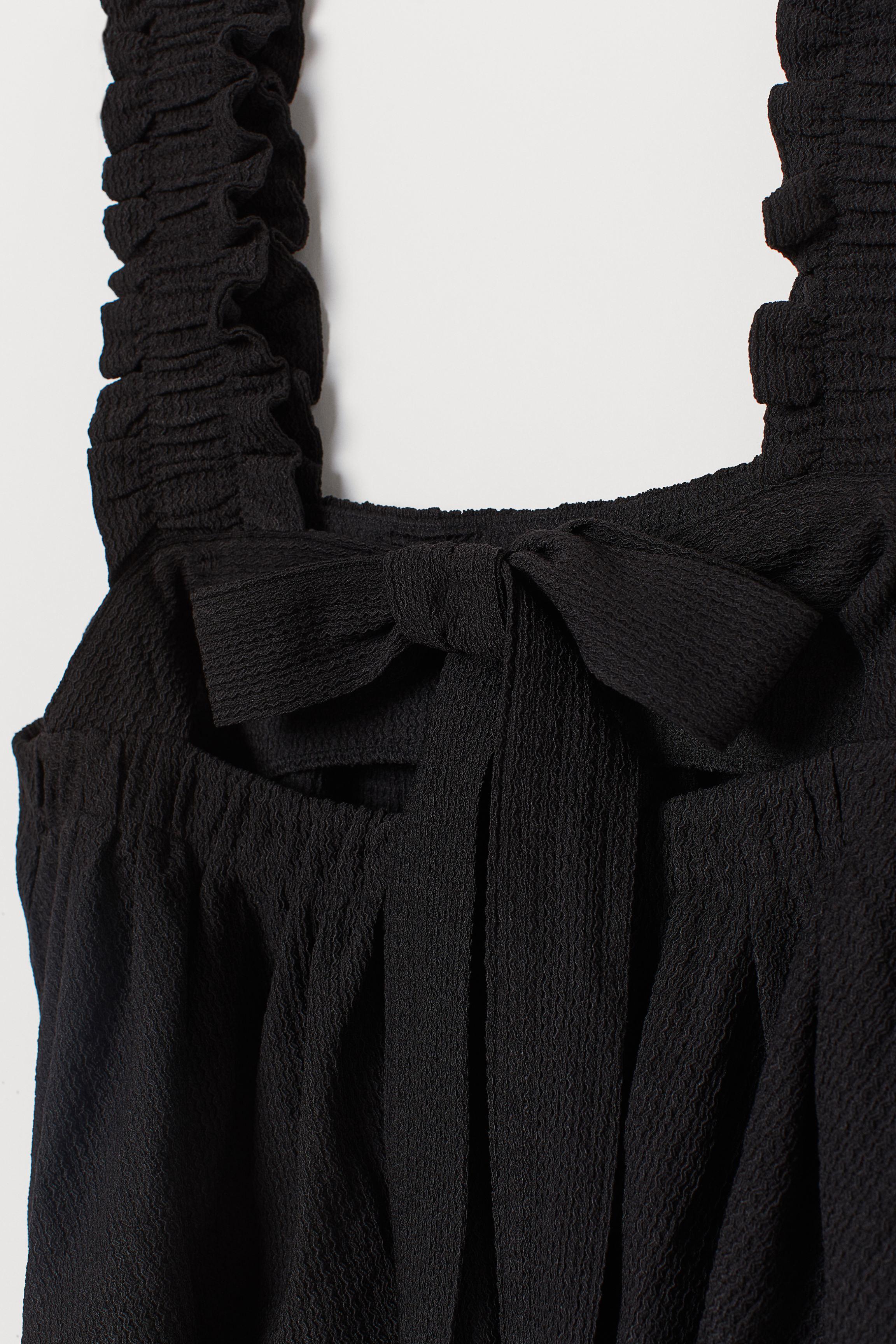 Flared Tie-detail Top