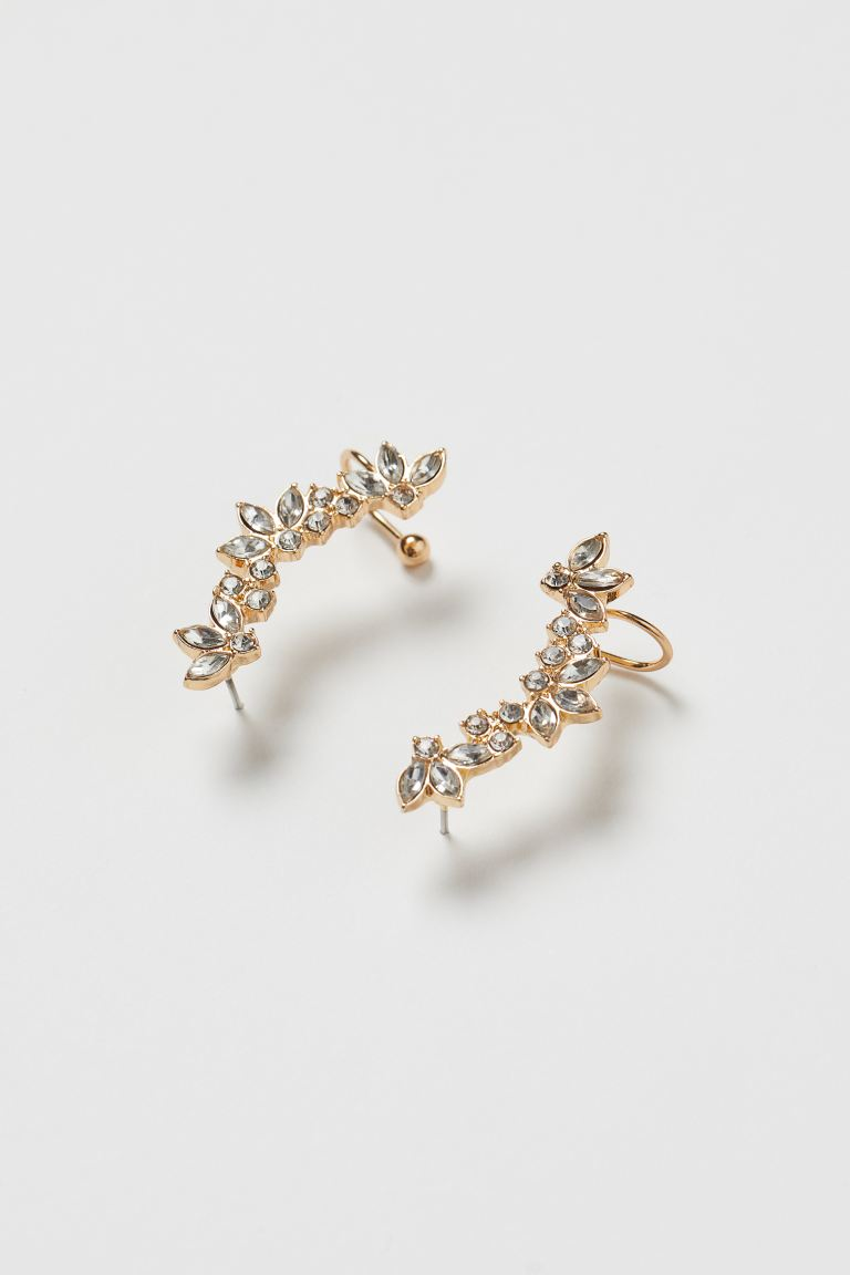 Ear Cuff Earrings - Gold-colored - Ladies | H&M CA