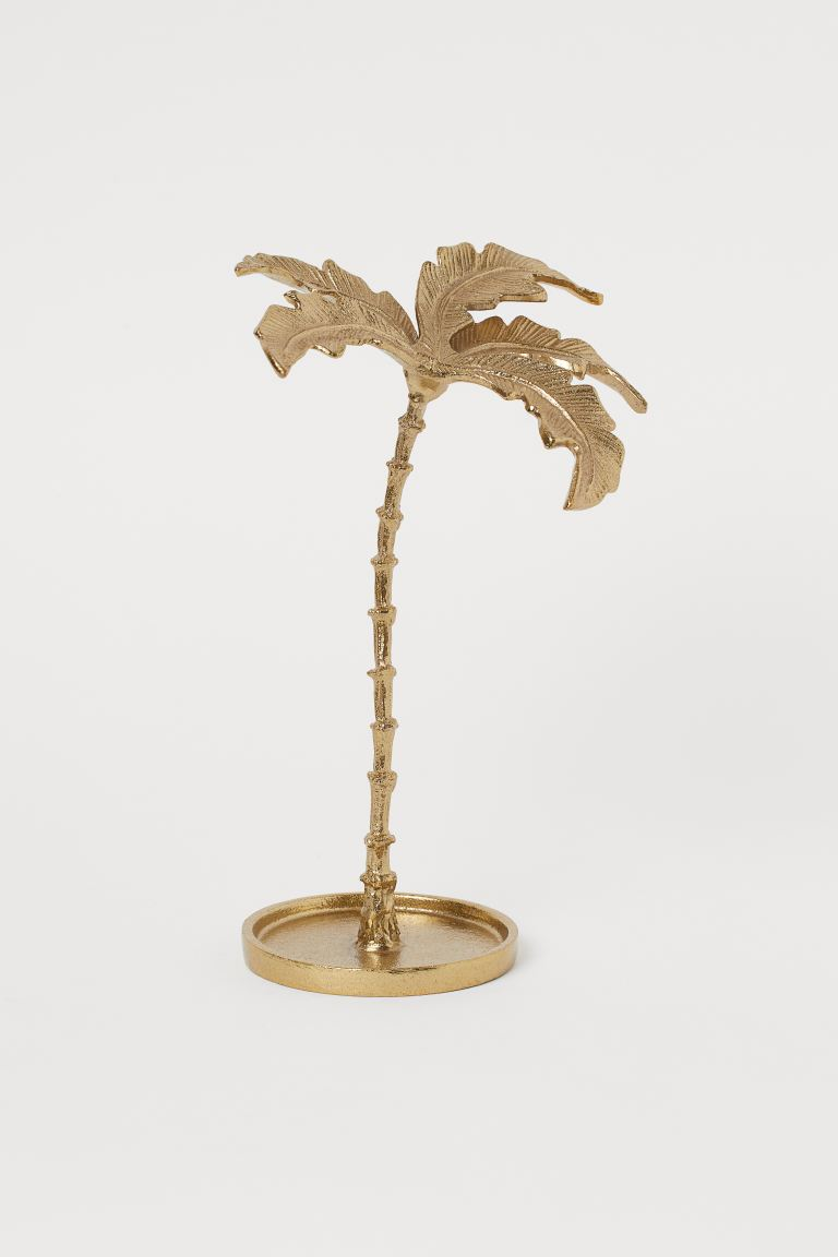 Palm-tree-shaped Jewelry Stand - Gold-colored - Home All | H&M US