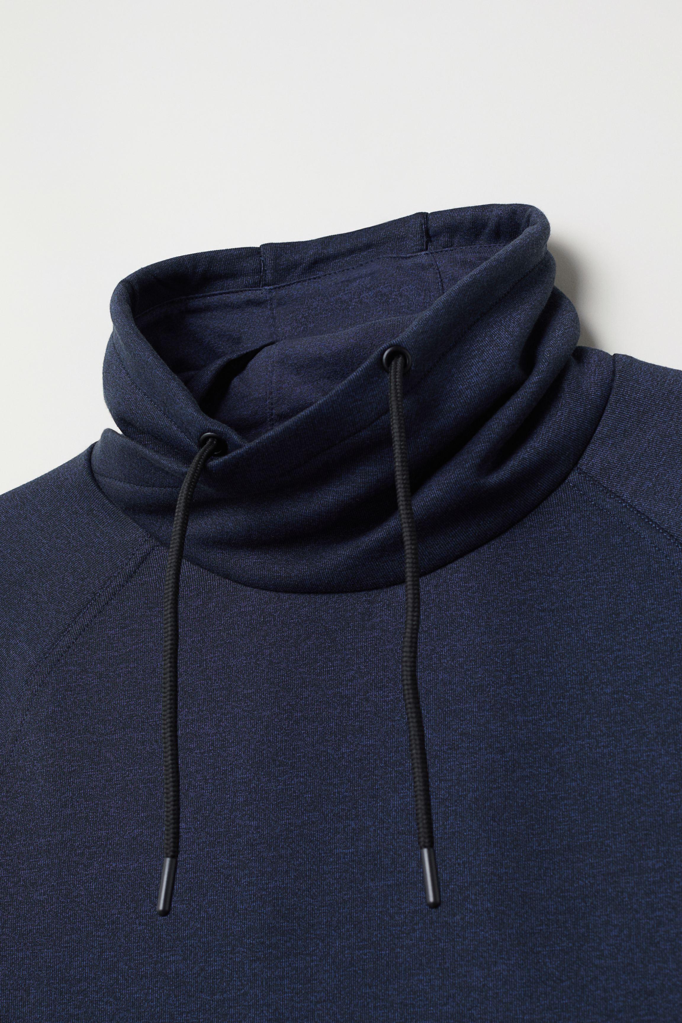 Chimney-collar Sweatshirt