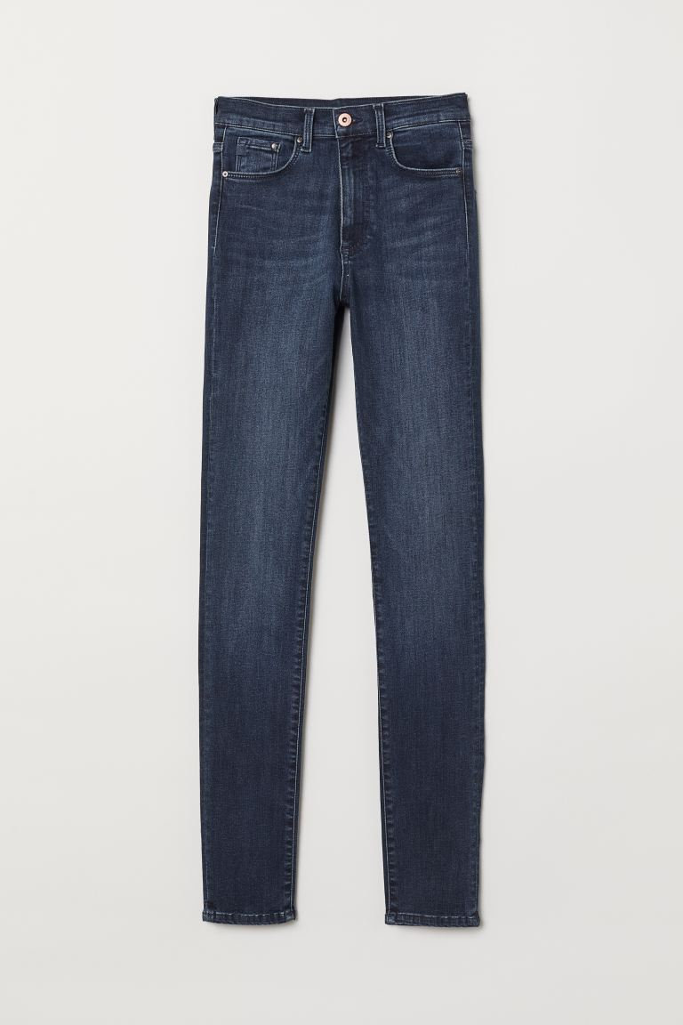 Shaping Skinny High Jeans - Dunkelblau - Ladies | H&M AT