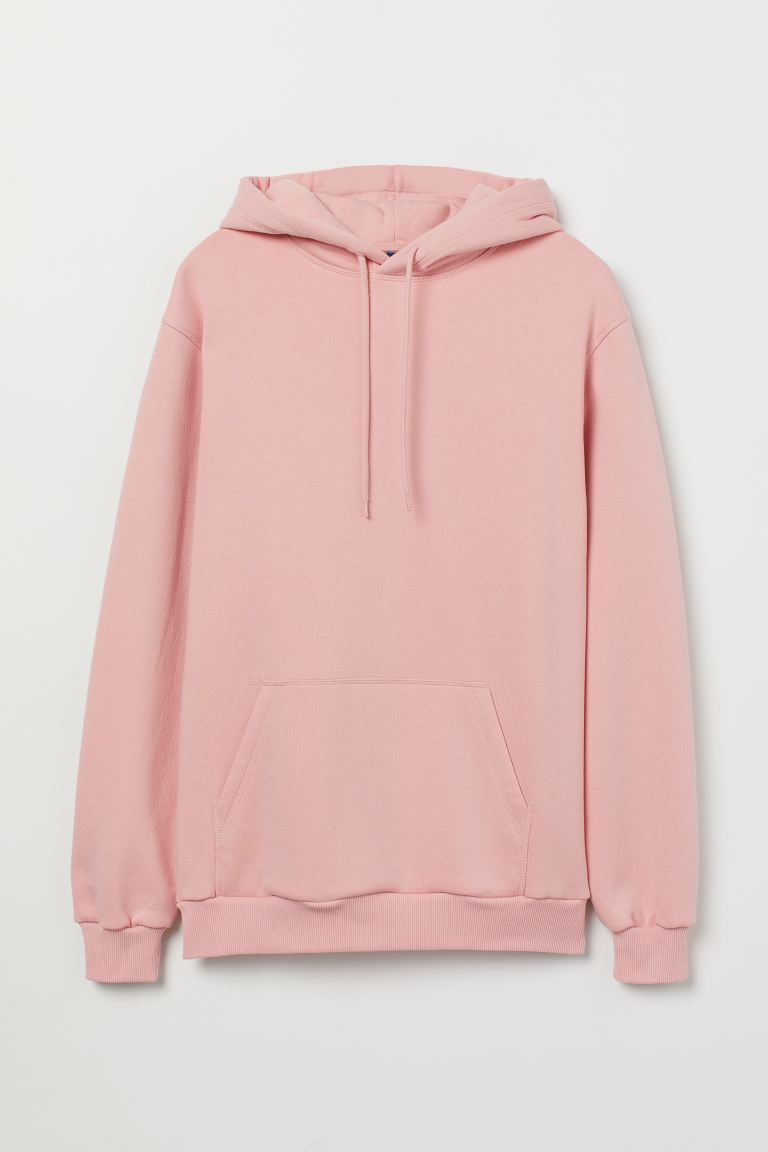 Relaxed-fit Hoodie - Pink - Men | H&M US