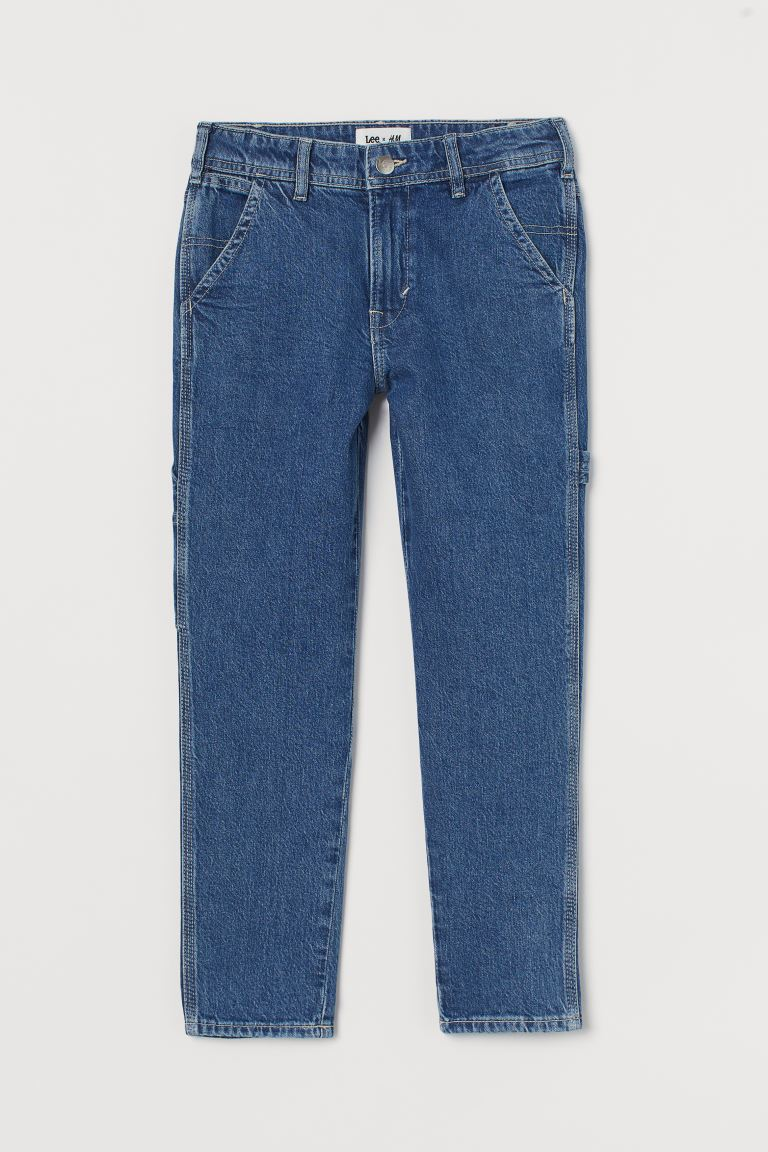 Jeans Relaxed Fit Carpenter - Azul denim - Kids | H&M US