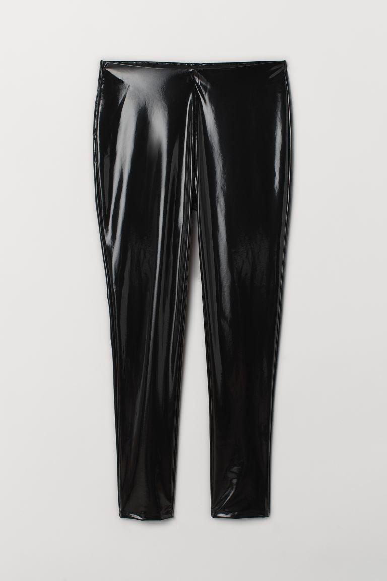 vânzări la cald aspect minunat selecție uimitoare H&M+ Colanți - Negru/lăcuit - FEMEI | H&M RO