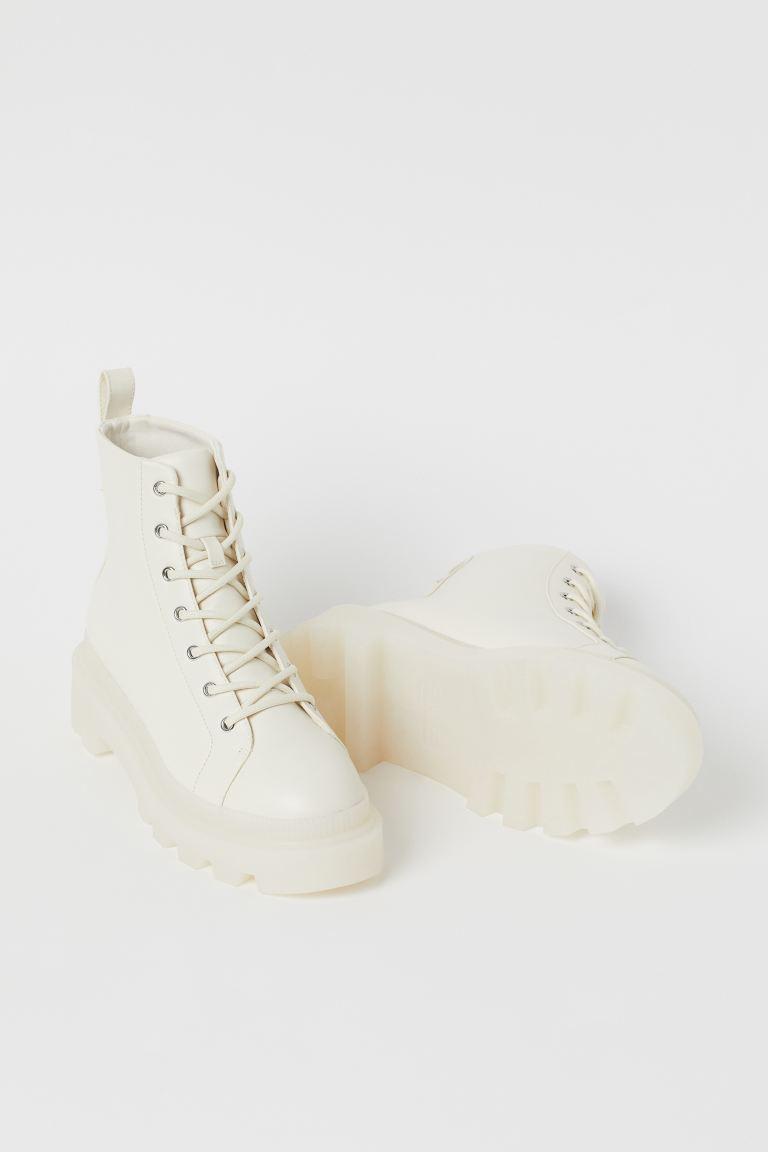 Boots - White - Ladies | H&M US 2