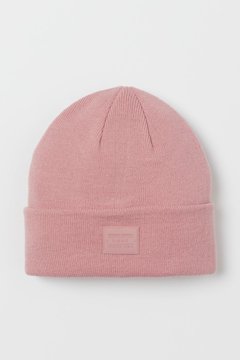Fine-knit Hat - Pink - Ladies | H&M US