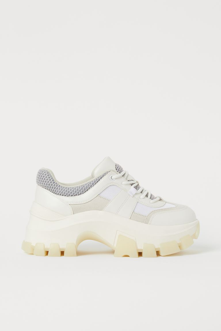 Chunky Sneakers - White - Ladies | H&M US