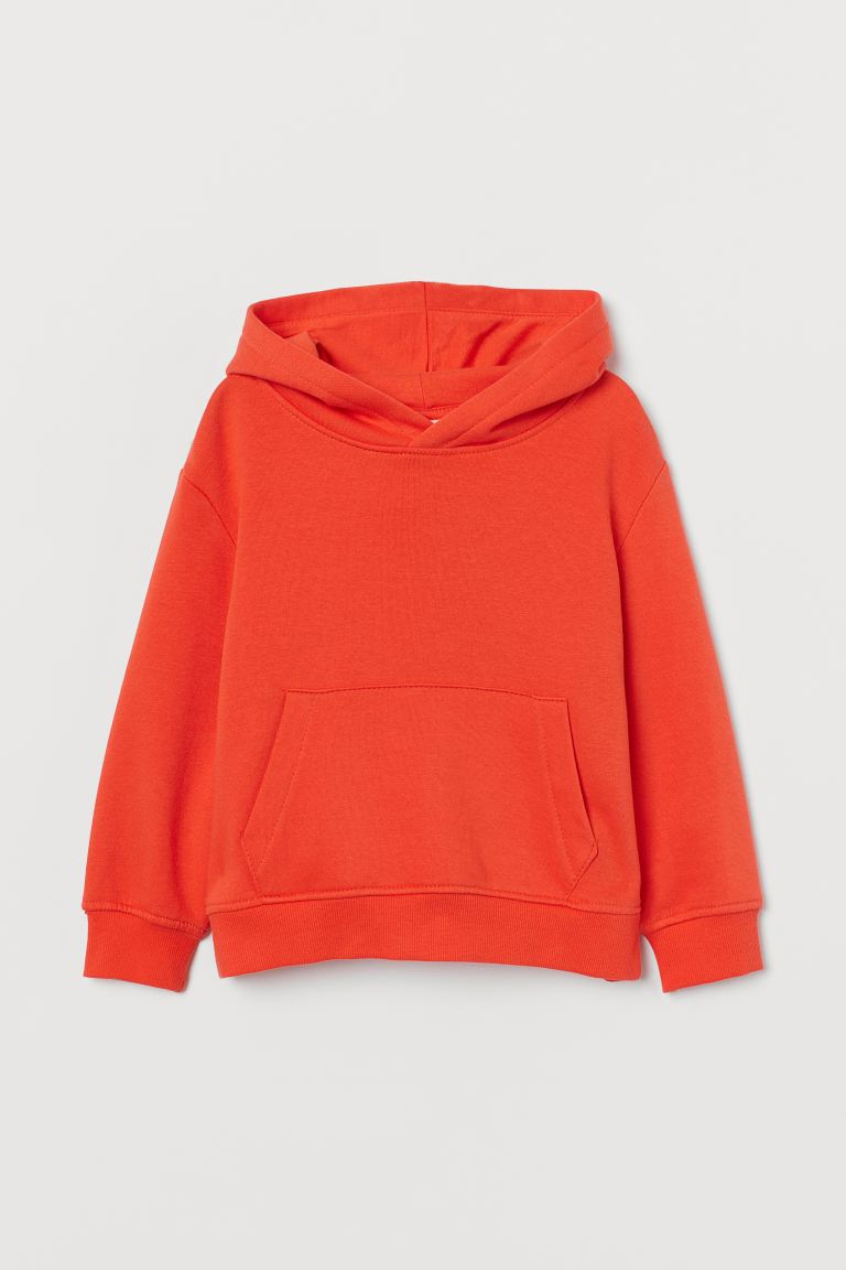 Sweat à capuche - Rouge - ENFANT | H&M FR