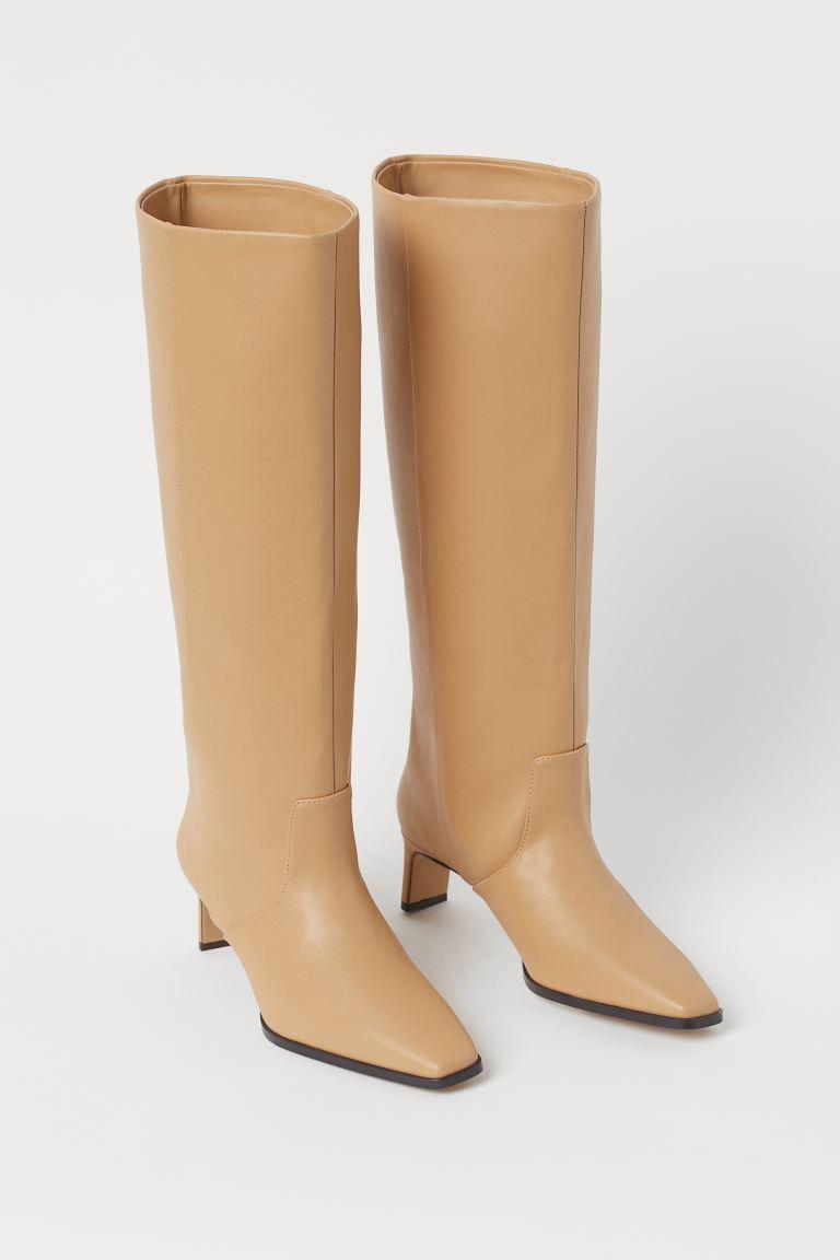 Boots - Beige - Ladies   H&M GB 2