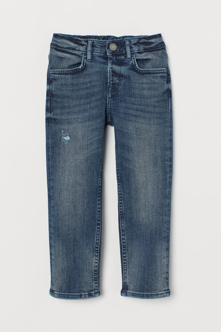 Comfort Stretch Slim Fit Jeans - Dunkelblau - KINDER | H&M CH