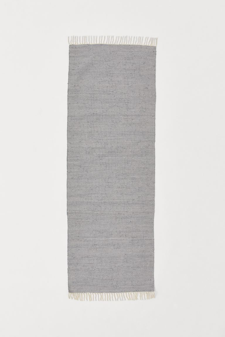 Tapis catalogne en coton - Gris - Home All | H&M CA