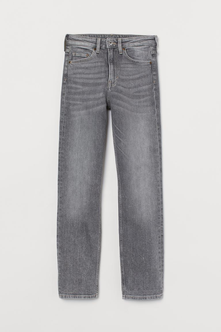 Vintage Slim High Ankle Jeans - Light gray - Ladies | H&M CA