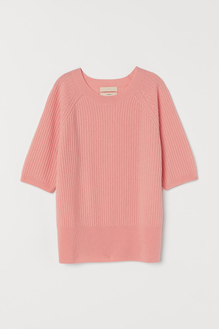Cashmere jumper - Peach pink - Ladies | H&M IN