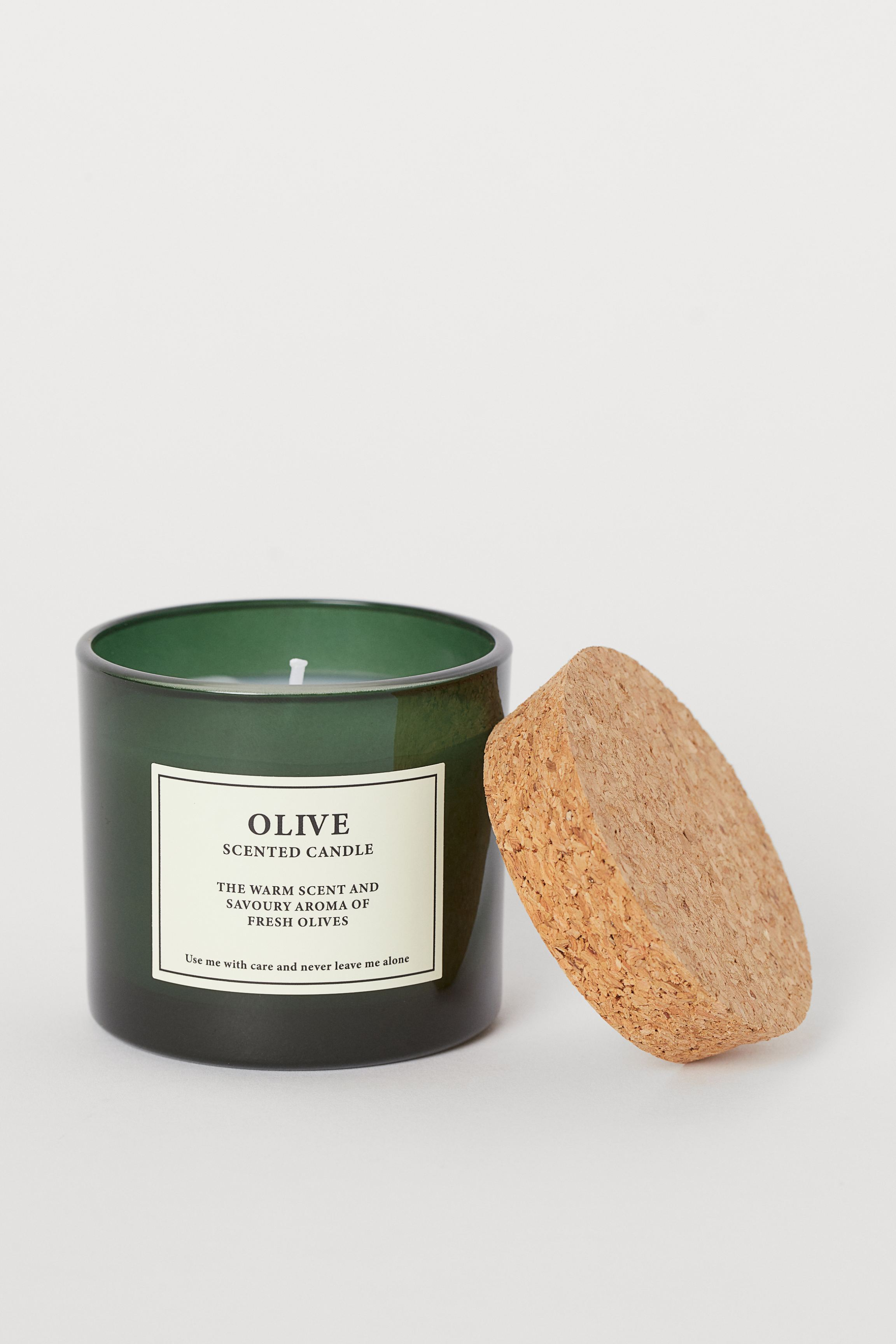 Scented Candle with Cork Lid