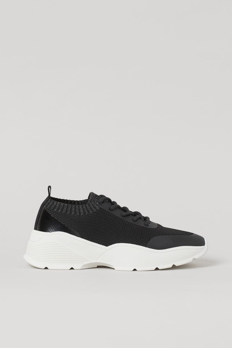 Fully fashioned Sneaker - Schwarz - Ladies | H&M AT