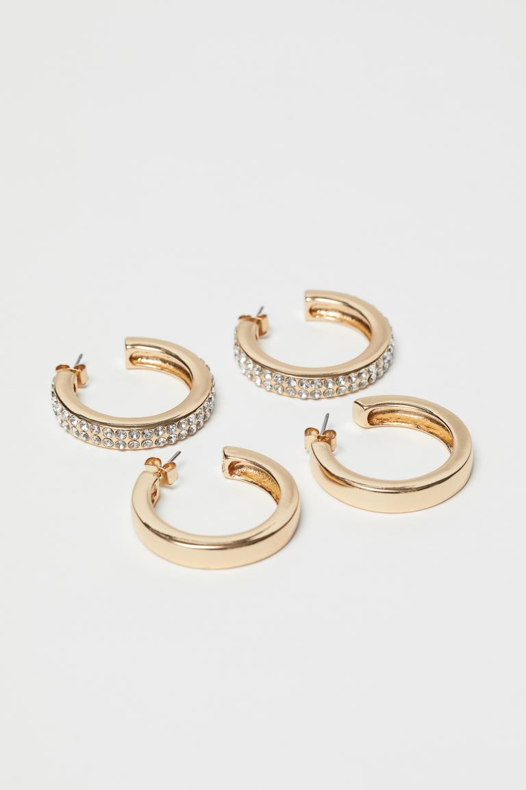 2-pack Earrings - Gold-colored - Ladies | H&M US