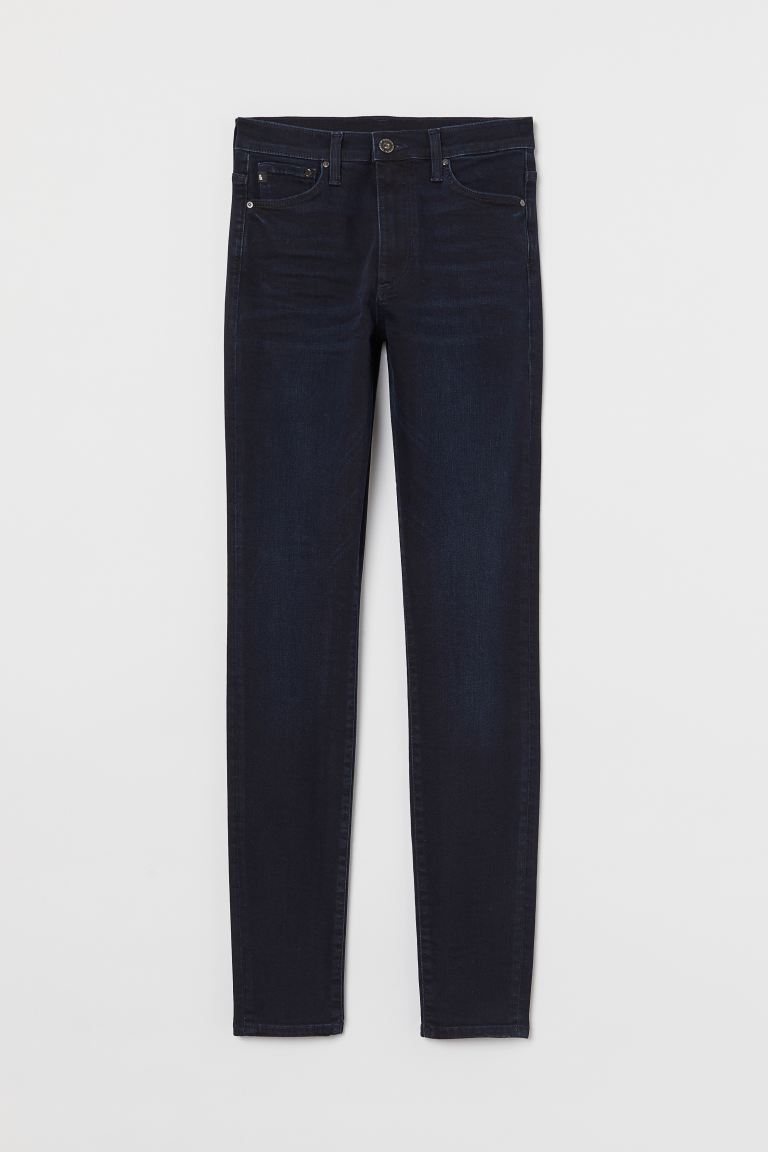 Shaping Skinny High Jeans - Azul oscuro - MUJER | H&M ES