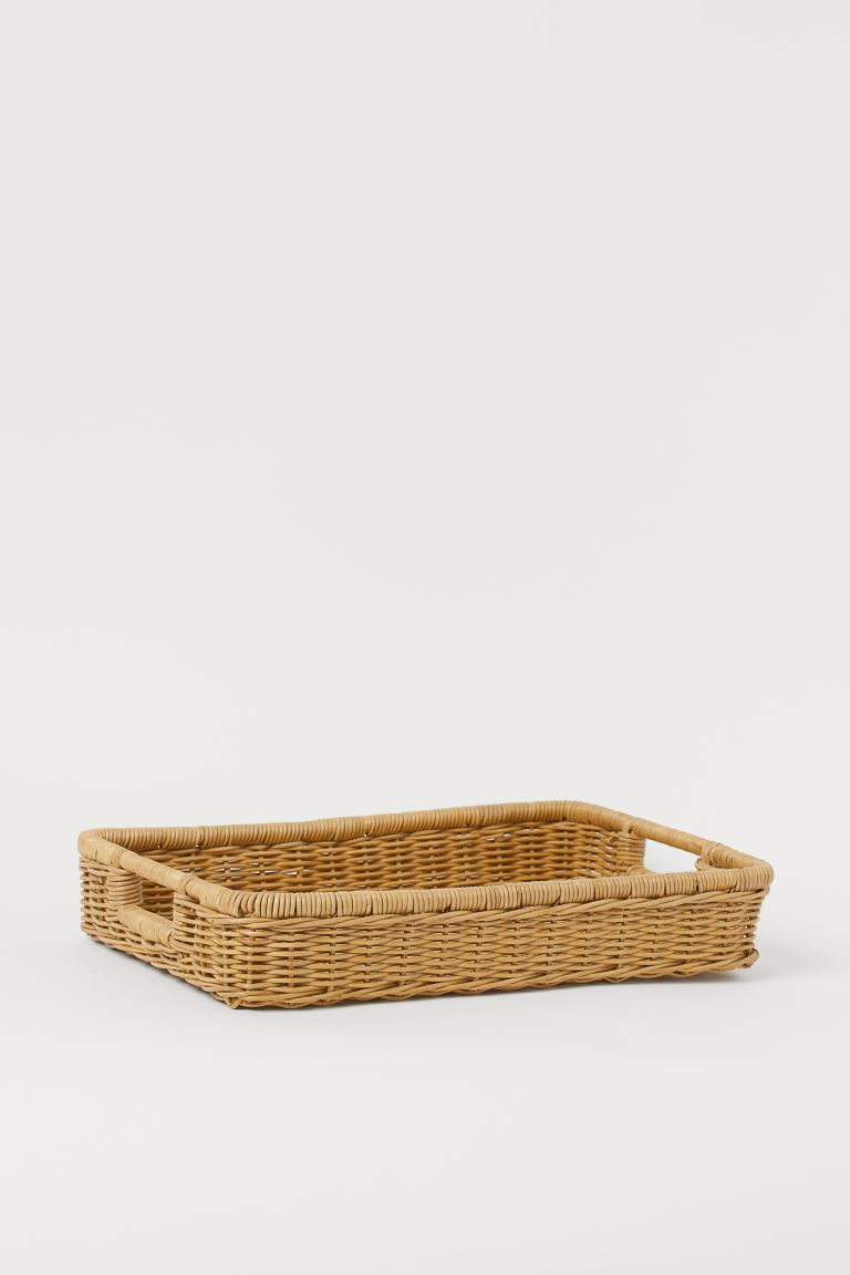 Rattan tray - Beige - Home All | H&M GB