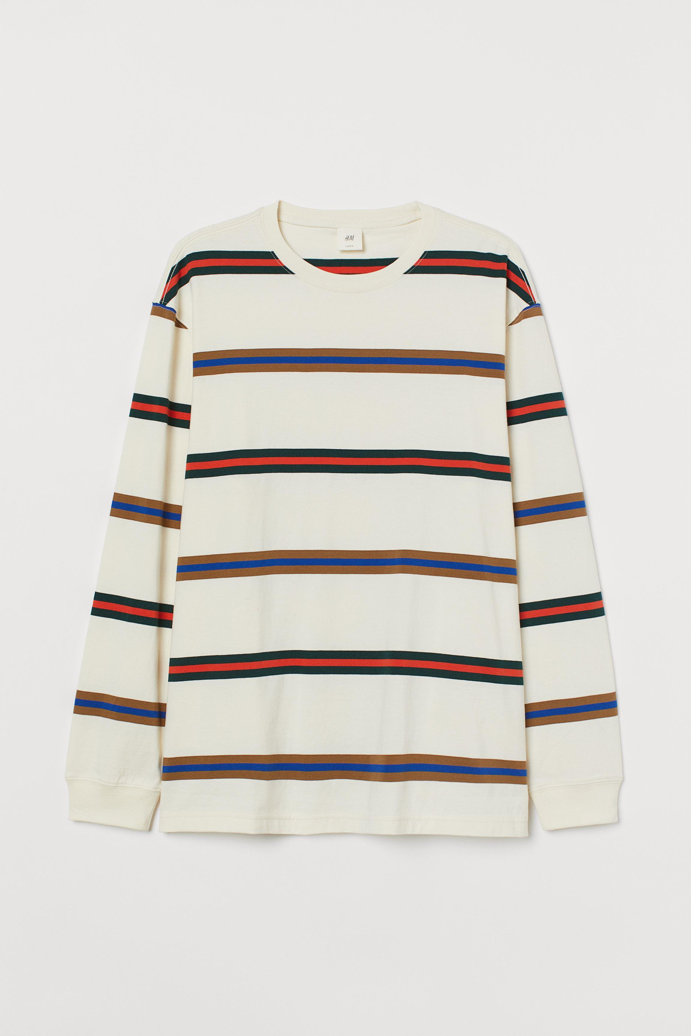 Long-sleeved Jersey Shirt