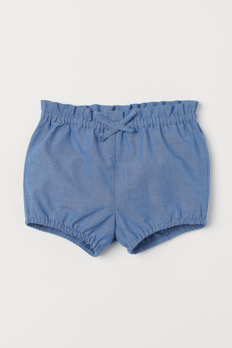 Puff Pants - Blue/chambray -  | H&M US